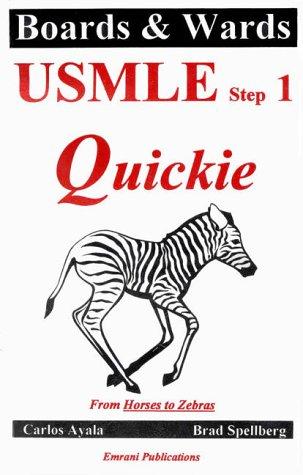 USMLE Step 1 Quickie: Rittenhouse Book Distributors,