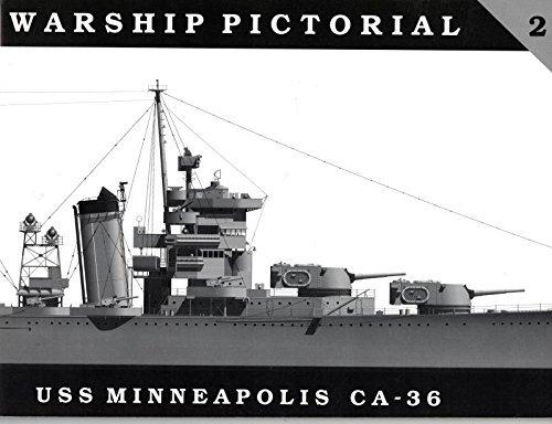 9780965482912: Warship Pictorial No. 2 - USS Minneapolis CA-36