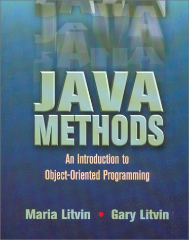 9780965485333: Java Methods : An Introduction to Object-Oriented Programming