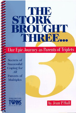 9780965544221: The Stork Brought Three: Our Epic Journey as Parents of Triplets