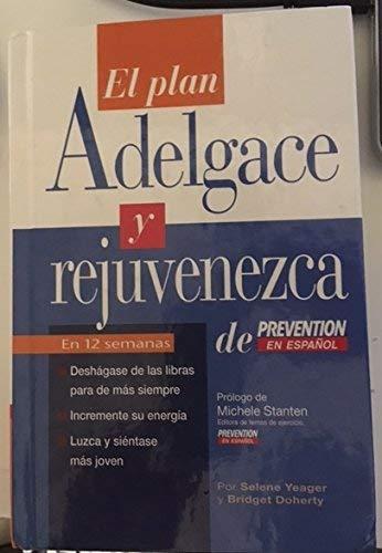 9780965548175: El Plan Adelgace y Rejuvenezca de Prevention en Espanol