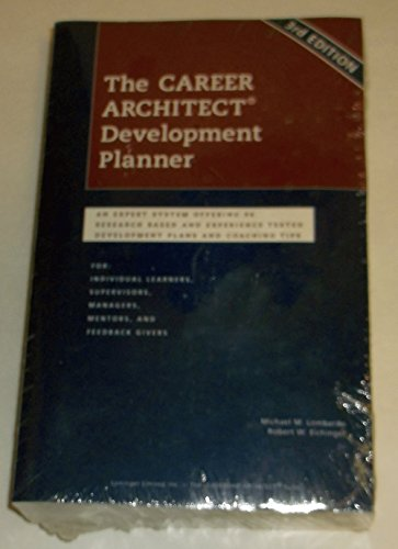 9780965571241: Career Architect Development Planner 3rd Edition (The Leadership Architect Suite)