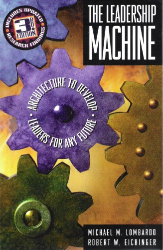 9780965571265: The Leadership Machine: Architecture to Develop Leaders for Any Future