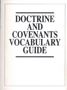 9780965583565: Doctrine and Covenants Vocabulary Guide