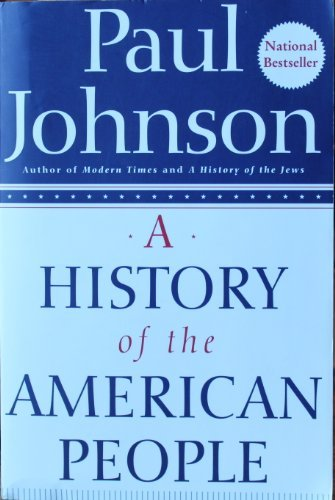 9780965586801: A History of the American People