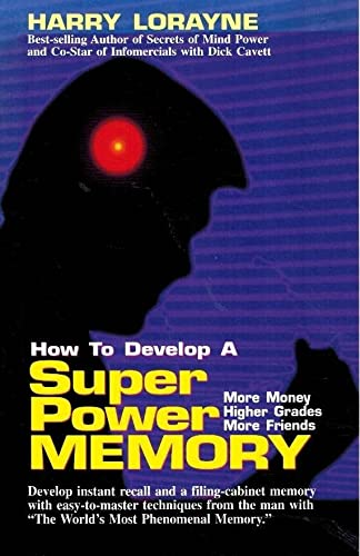 9780965597319: How to Develop a Super Power Memory