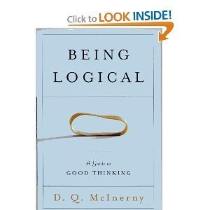 9780965606820: Being Logical a Guide To Good Thinking