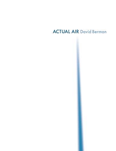 Actual Air: David Berman