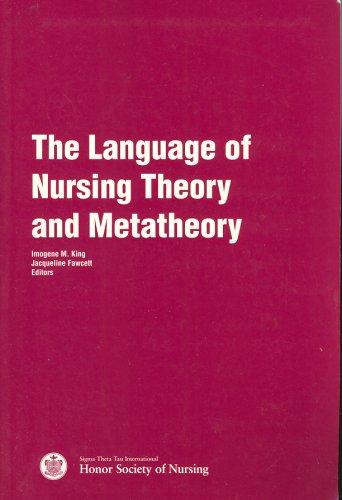 9780965639101: The Language of Nursing Theory and Metatheory