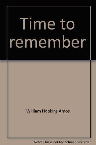 Time to remember: A biography of St. Andrew's School from the 1950s to the 1980s: Amos, ...