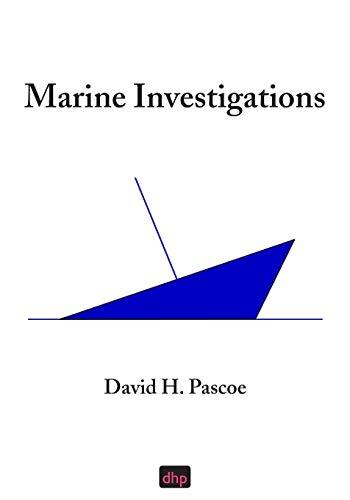 Marine Investigations: David H Pascoe