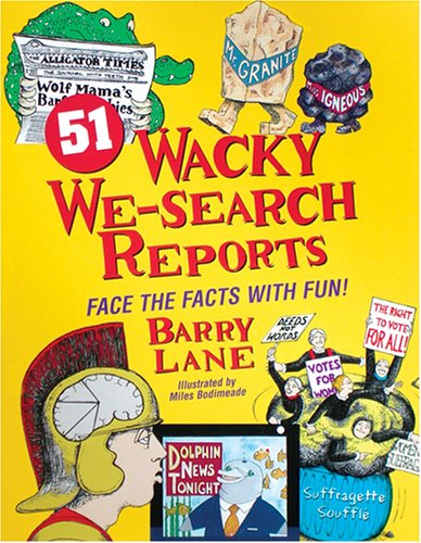 9780965657464: 51 Wacky We-Search Reports: Face the Facts With Fun