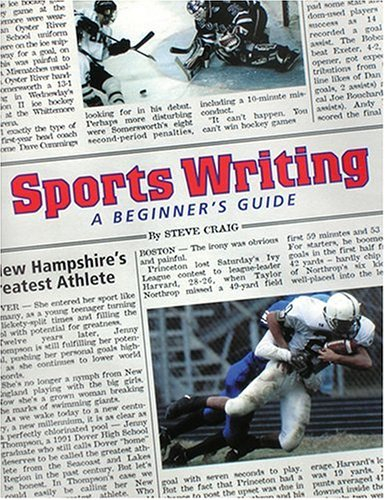 9780965657495: Sports Writing: A Beginner's Guide
