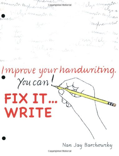 9780965674584: Fix It Write