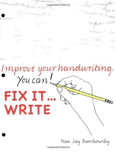 9780965674584: Fix It Write
