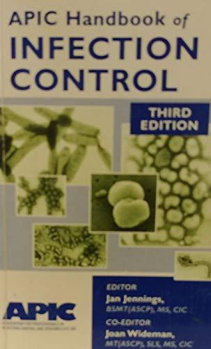 9780965675161: Apic Handbook of Infection Control