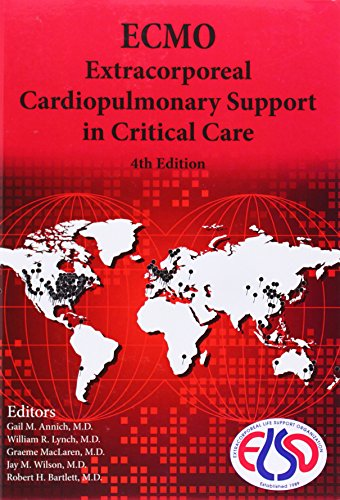 9780965675642: Ecmo Extracorporeal Cardiopulmonary Support in Critical Care, Red Book