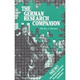 The German Research Companion: Shirley J Riemer