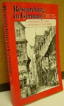 Researching in Germany: A handbook for your: Minert, Roger P