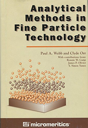 9780965678308: Analytical Methods in Fine Particle Technology