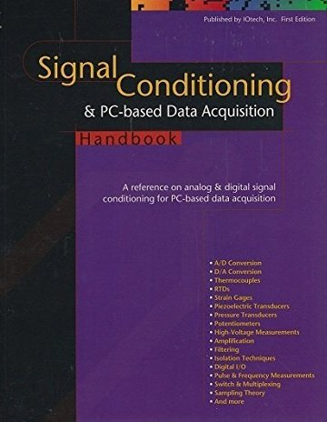 9780965678902: Signal Conditioning & Pc-Based Data Acquisition Handbook: A Reference on Analog & Digital Signal Conditioning for Pc-Based Data Acquisition