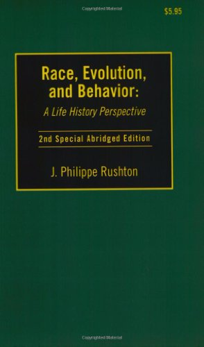 9780965683623: Race, Evolution and Behavior: A Life History Perspective