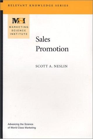 9780965711418: Sales Promotion