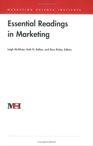 9780965711456: Title: Essential Readings in Marketing Marketing Science