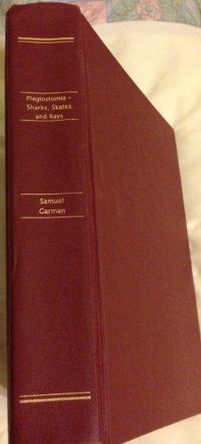 The Plagiostomia: Sharks, skates, and rays: Garman, Samuel