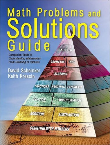9780965730037: Math problems and solutions guide