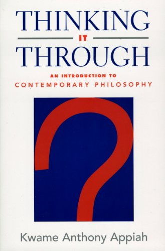 9780965746410: Thinking It Through: An Introduction to Contemporary Philosophy