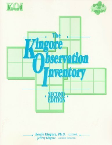 9780965791182: The Kingore Observation Inventory