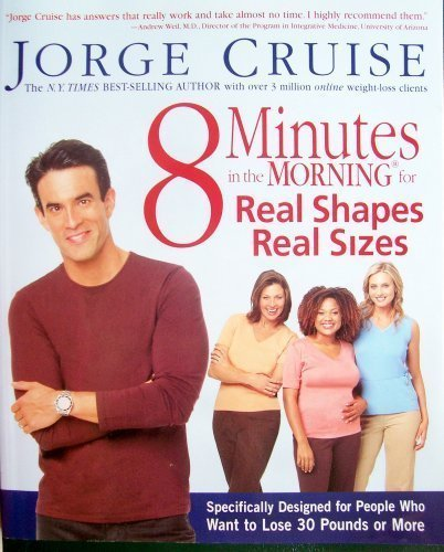 8 Minutes in the Morning for Real Shapes Real Sizes: Jorge Cruise