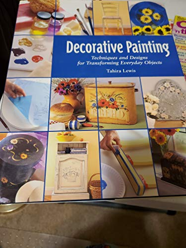 Decorative Painting Techniques and Designs for Transforming Everyday Objects