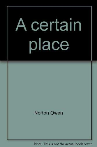 9780965835701: A certain place: The Jacob's Pillow story