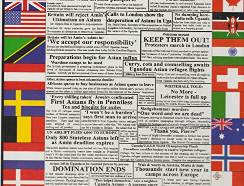 9780965874007: Ugandan Asian Expulsion: 90 Days & Beyond Through the Eyes of the International Press