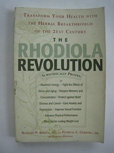 9780965920230: The Rhodiola Revolution