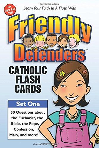 9780965922814: Friendly Defenders: Catholic Flash Cards