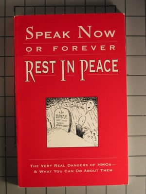Speak Now or Forever Rest in Peace: Miller, Gordon; Mann,