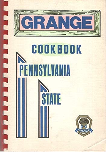 1972 Pennsylvania State Grange Cookbook: Pennsylvania State Grange