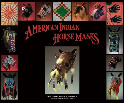 American Indian Horse Masks: Martin, Ned and Jody