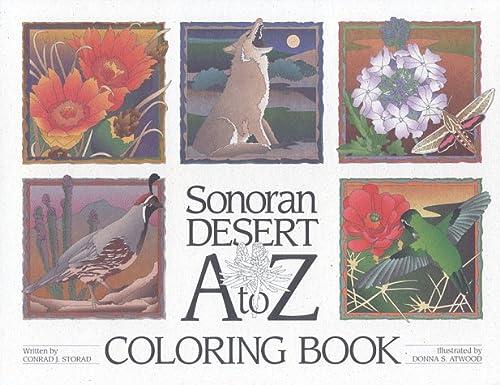 9780966029307: Sonoran Desert A to Z Coloring Book