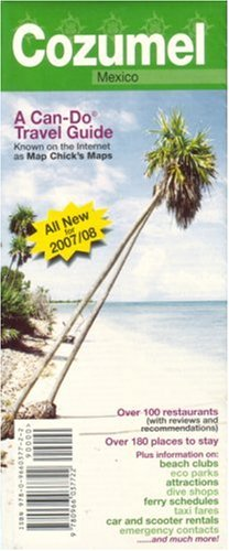 9780966037722: Cozumel Can-Do Travel Guide & Map