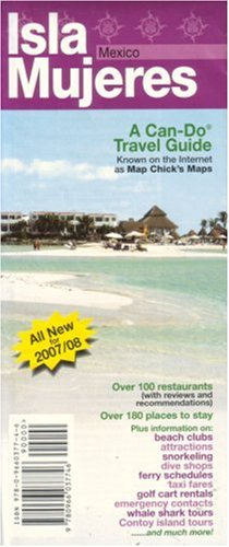 9780966037746: Isla Mujeres Can-Do Travel Guide/Map