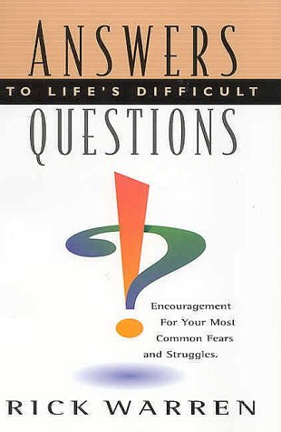 9780966089523: Answers to Life's Difficult Questions
