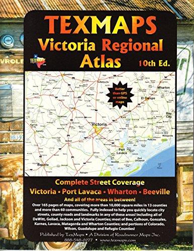 Victoria Regional Atlas (USA StreetFinder Atlas): TexMaps