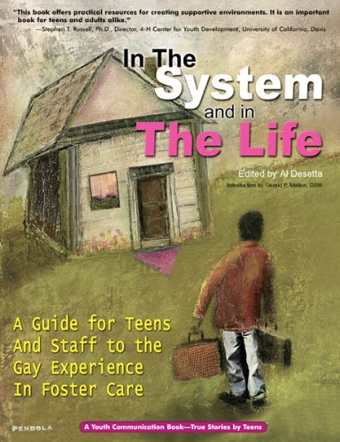9780966125634: In the System and in the Life: A Guide for Teens and Staff to the Gay Experience in Foster Care