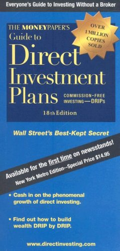 9780966154504: The MoneyPaper's Guide to Direct Investment Plans