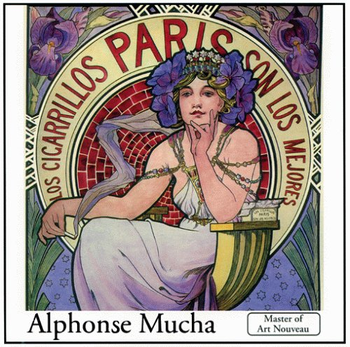 9780966188813: Alphonse Mucha: The Complete Works on Cd