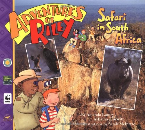 ADVENTURES OF RILEY: Safari in South Africa (Signed)